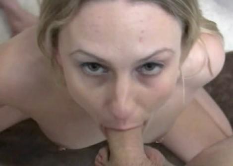 Jen sucks some dick and gets fucked