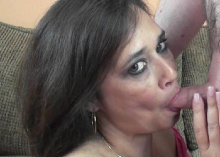 Deepest deepthroat facial