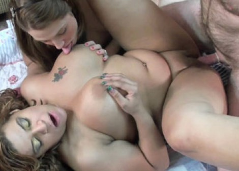 Angel and Lina get fucked in a threesome